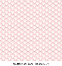 Pink Gradient on White Scale Pattern Seamless Repeat Backgrounds