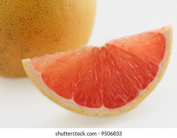 pink grapefruit fresh ripe juicy organic sweet