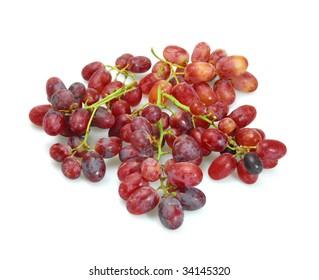 pink grapes