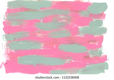 pink green acrylic background