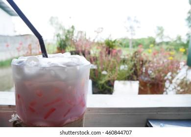 Pink Ice Milk