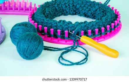 Knitting Loom Images, Stock Photos & Vectors | Shutterstock