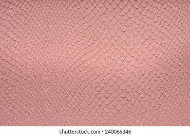 Pink leather, a background or texture