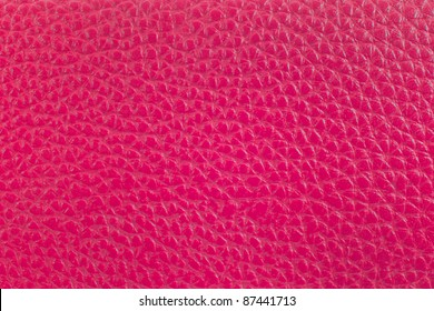 pink leather surface