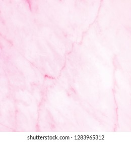 Pink marble pattern texture background for design.