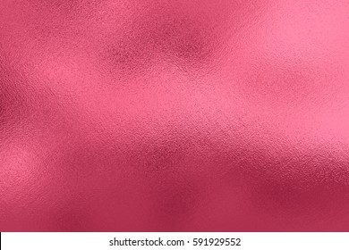 Pink metal foil, abstract background