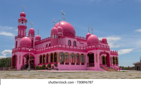 Pink Mosque in Mindanao