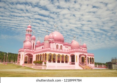 Pink Mosque in Mindanao, Philippines