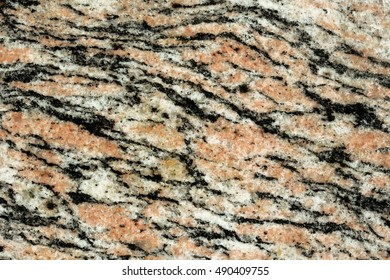 Pink, orange, grey and black marble pattern texture abstract background
