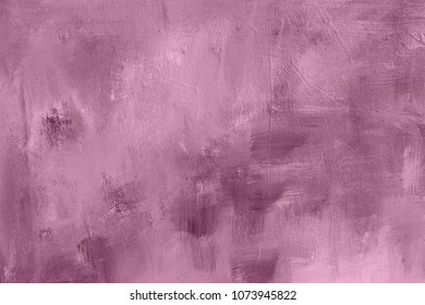 pink painting background or texture