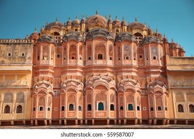 Pink Palace Jaipur - Hawa Mahal. India, Rajasthan