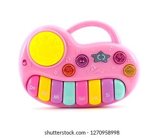 Pink piano toy