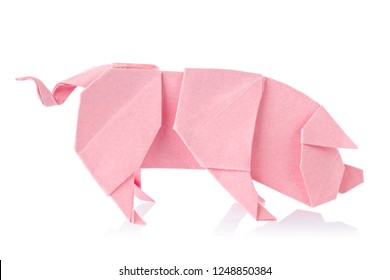 How to Make an Origami Pig Face Instructions   Free Printable ...   280x390