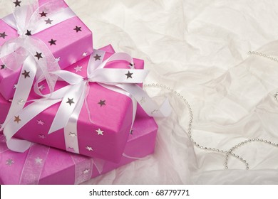 Pink presents.