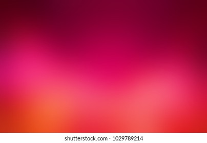 Pink red orange colorful empty background. Ombre abstract texture. Intensive blurred pattern. Sexy defocused template.