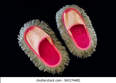pink sandal mops