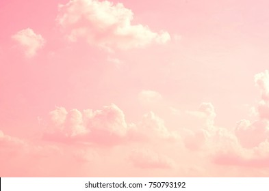 pink sky background white clouds 260nw 750793192