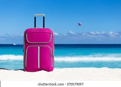 f0610634b9ec Beach Suitcase Images, Stock Photos & Vectors | Shutterstock
