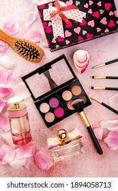 Pink Theme Beauty and Cosmetic Set