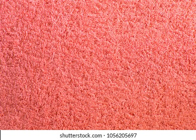 Pink towel texture. Background and texture.
