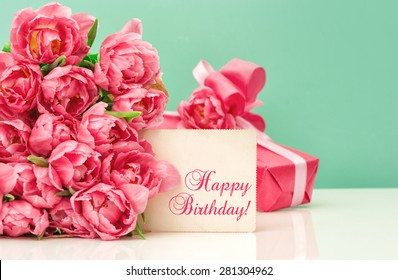 Happy Birthday Flowers Images Stock Photos Vectors