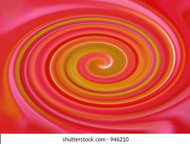 pink twirl