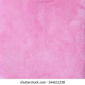 pink velveteen