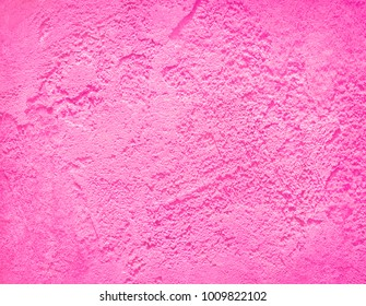 Pink wall concrete texture. Cement stucco background.