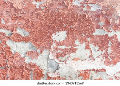 the pink wall texture background