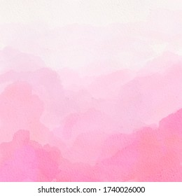 Pink watercolor ombre gradient texture