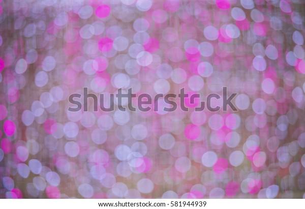 pink white bokeh , sparse blue pink bokeh background