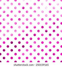 Pink White Polka Dot Pattern Swiss Dots Texture Digital Paper Background