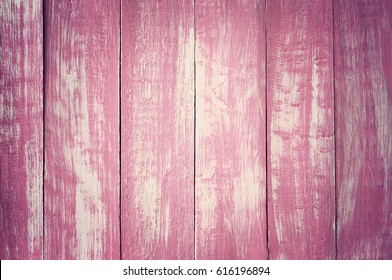 pink wood plank texture background