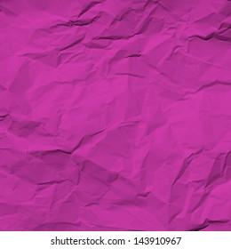 pink wrinkled paper
