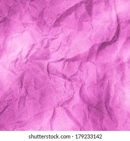 pink wrinkled paper texture