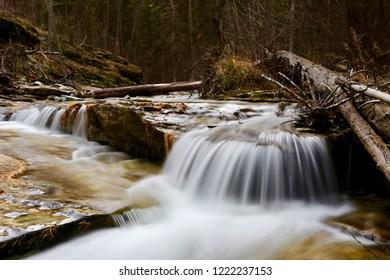 Pinkham Falls Montana