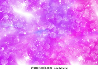 Pinki bubbles background