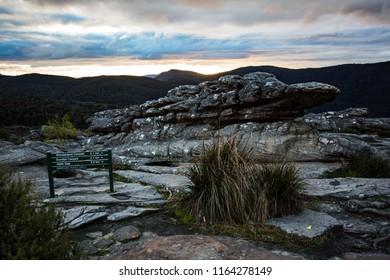 The Pinnacle, Grampians National Park, Halls Gap, Victoria, Australia