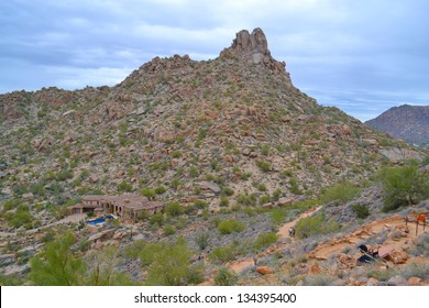 Pinnacle Peak Mountain in Scottsdale, Arizona