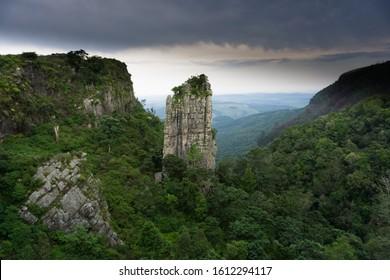 The Pinnacle Rock at Blyde River Canyon