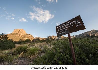 Pinnacle Trail at Big Bend