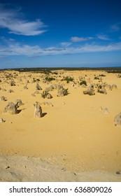 The Pinnacles Desert, Numbing National Park