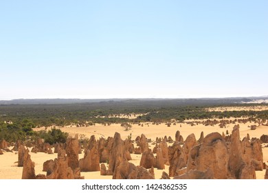 The Pinnacles, Nambung National Park, Western Australia, Outback, Down under, stone formations