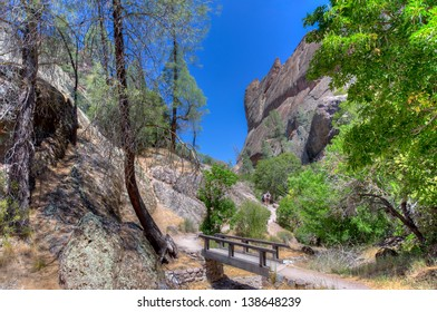 Pinnacles National Park in Monterey County, California.