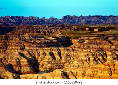 The Pinnacles Overlook, Badlands National Park in South Dakota