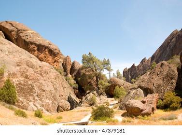 Pinnacles rock hills