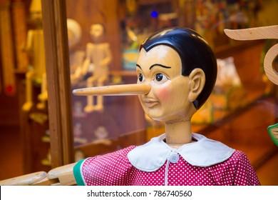 pinocchio marionette of collodi tuscany