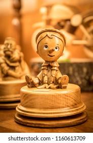 Pinocchio Toy Puppet