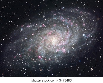 The Pinwheel galaxy M33