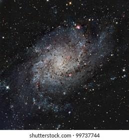 The Pinwheel or Triangulum Galaxy